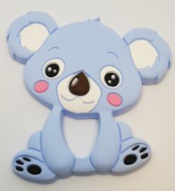 Siliconen Bijtring - Koala Blauw