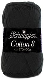 Scheepjes Cotton 8 nr 515 Zwart