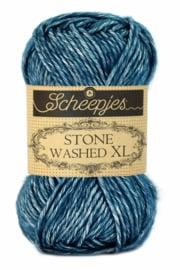 Stone Washed XL Blue Apatite 845
