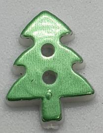Kerstboom Knoop Licht Groen