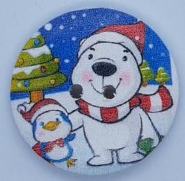 Kerstbeer met Pinquin