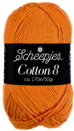Scheepjes Cotton 8 nr 639 Oranje