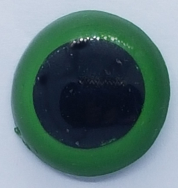 Veiligheidsogen Groen 18mm (2 stuks)