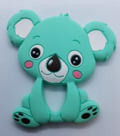 Siliconen Bijtring - Koala Mint Groen