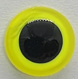 Veiligheidsogen Lemon Geel 12mm (2 stuks)