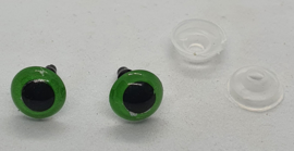 Veiligheidsogen Groen 10mm (2 stuks)
