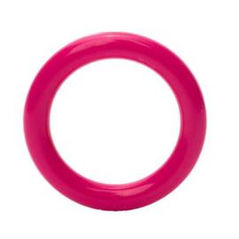 Plastic ringetjes - 40 mm - Fuchsia