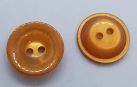 Oranje Knoop 25mm