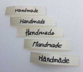 Verschillende Labels Hand made 4,5 x 0,9 cm (5 stuks)