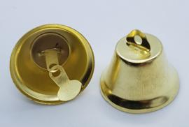 Goud Kleurige Belletjes Bel 35mm (per stuk)