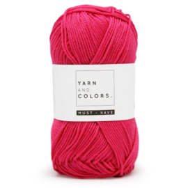 YARN AND COLORS MUST-HAVE 034 DEEP CERISE