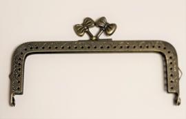 Brons Kleurig  met Strikjes 12,5cm