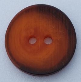 Oranje Bruine Knoop 18 mm