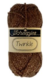Scheepjes Twinkle 939 Donker Bruin