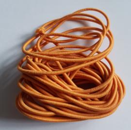 2mm Koord Elastiek Oranje - 1 Meter