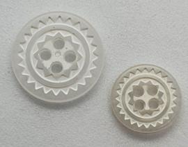 Witte Knoop 11 & 15 mm