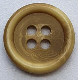 Licht Bruine Knopen 15mm