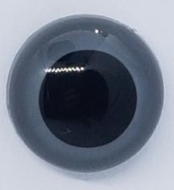 Veiligheidsogen Grijs 13,5mm (2 stuks)