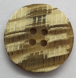 Olijf Witte  Knopen 23 mm