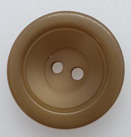 Bruin Gouden Knoop 23&28 mm
