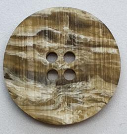 Bruine Knopen 23 mm