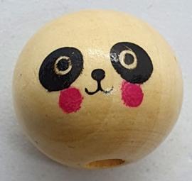 Kraal Gelukspoppetjes 18mm Panda