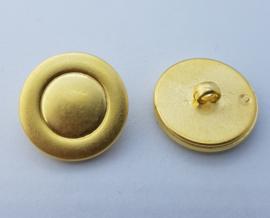 Goudkleurige Knoop 23 mm