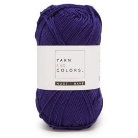 YARN AND COLORS MUST-HAVE 058 AMETHYST