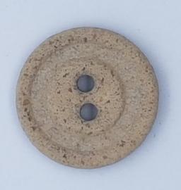Steen Grijze Knoop 20mm