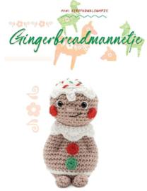 Garen Pakket Mini KouKleumpje Gingerbreadmannetje