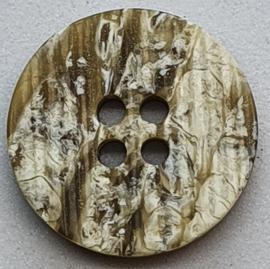 Bruine Knopen 18mm