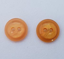 Oranje Knoop 15mm