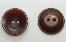 Donker Bruine Knoop 23mm