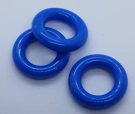 Durable Plastic ringetjes - 25 mm - Donker Blauw (5 Stuks)