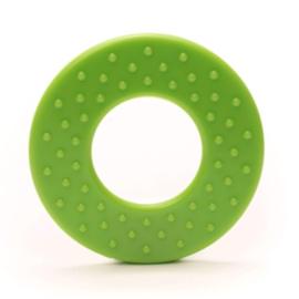 Durable Bijtring - Rond met noppen  - Apple Green 495