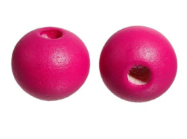 Ronde Roze Kralen 10 mm (20 stuks)