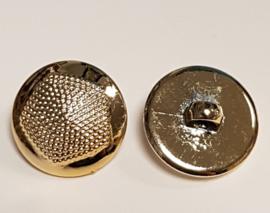 Goud Kleurige Kunststof Knopen 17mm