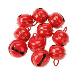 20mm Rode Belletjes (5 stuks)