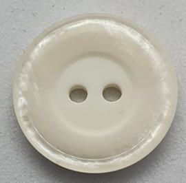 Witte Knoop 18mm
