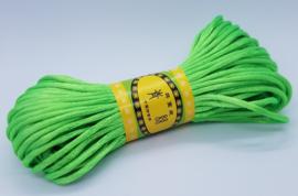 20 Meter Appel Groen Satijn Koord Draad 2mm
