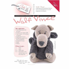 Patroonboekje Wolf Vince