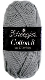 Scheepjes Cotton 8 nr 710 Donker Grijs