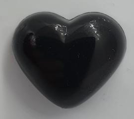Veiligheidsneus Zwart Hartje 18 mm