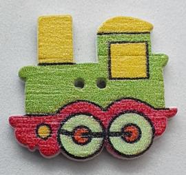 Trein Knopen  Groen