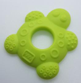 Siliconen Bijtring - Schildpad Appel Groen
