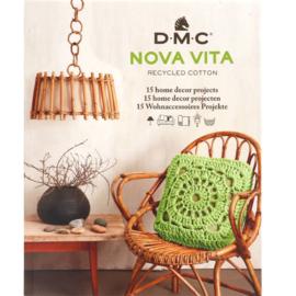 DMC Nova Vita Patroonboek 15 Designs EN-NL-DE