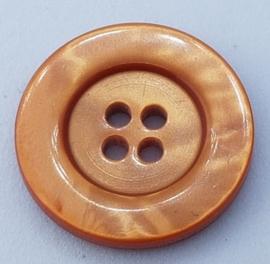 Oranje Bruine Knoop 22mm