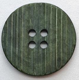 Groen Grijze Knoop met relief 23 mm