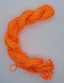 Nylon Koord 1mm - Oranje - 22 Meter