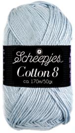 Scheepjes Cotton 8 nr 652 Licht Blauw